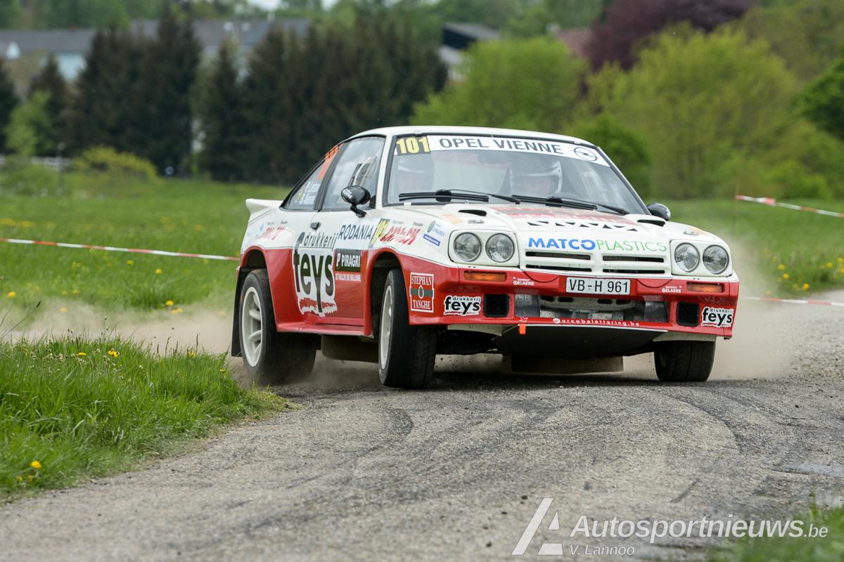 Paul Lietaer eenzaam naar de overwinning in Rally van Wallonië