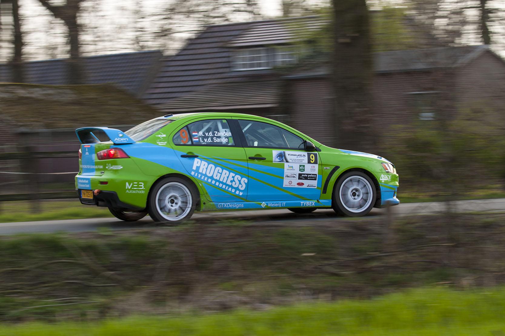 VDZ Racing ambitieus aan de start van de thuisrally