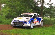 Bob de Jong met Hyundai i20 R5 in Vechtdal Rally