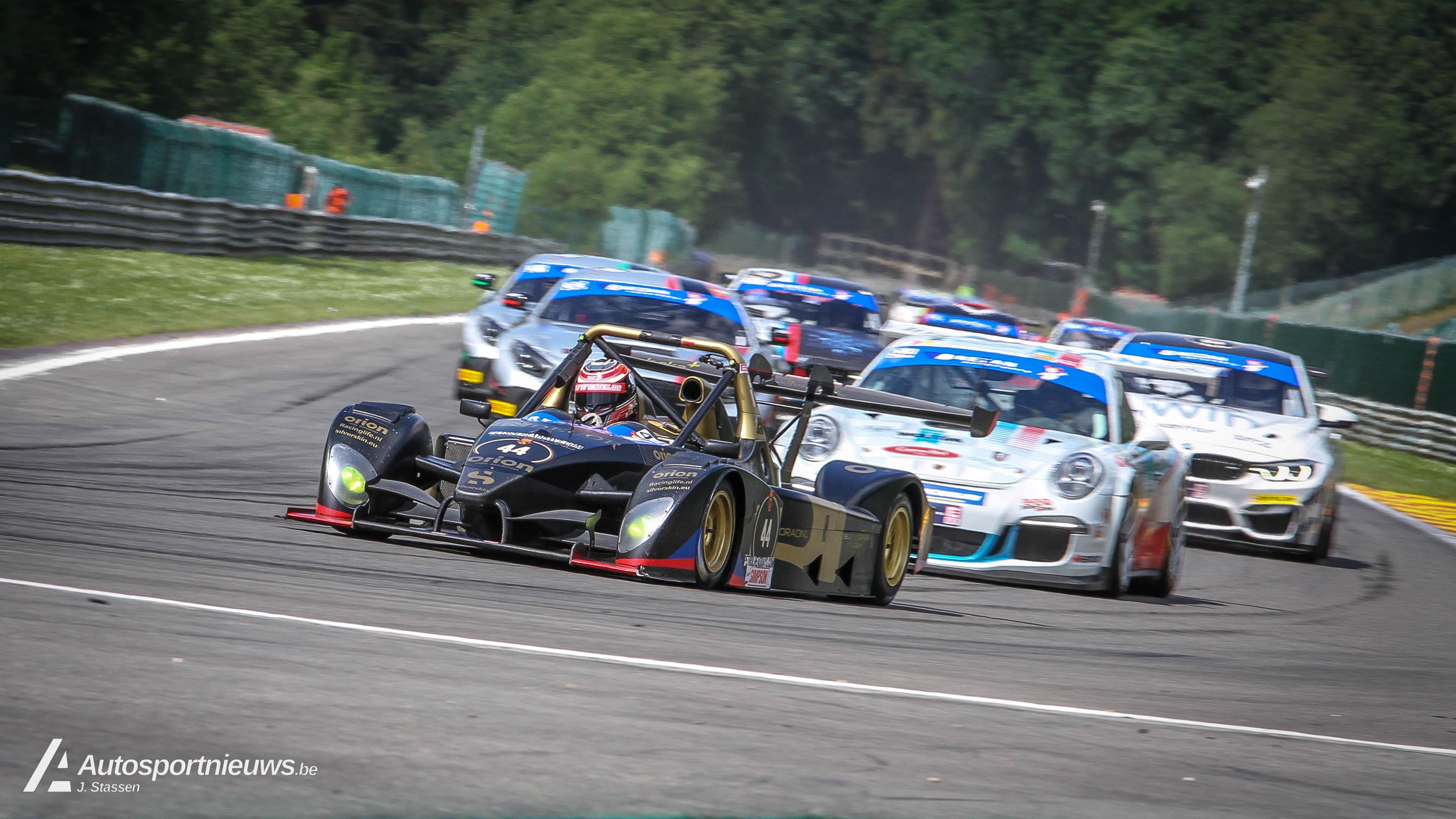 Intensiteit, het sleutelwoord van de Spa Euro Race 2018!