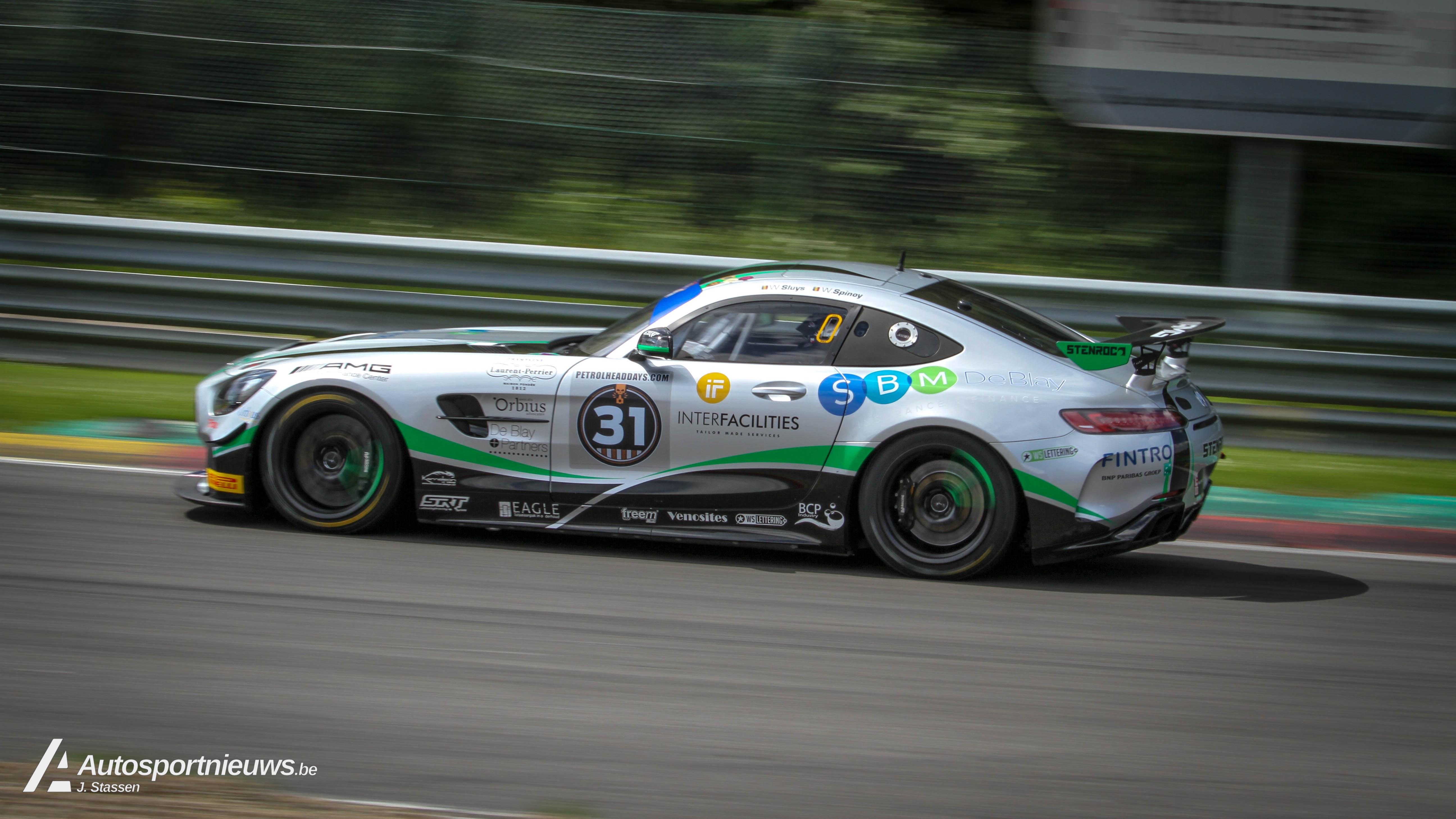 Opnieuw podium in Belcar 3 - klasse GT4 van Belcar Endurance Championship