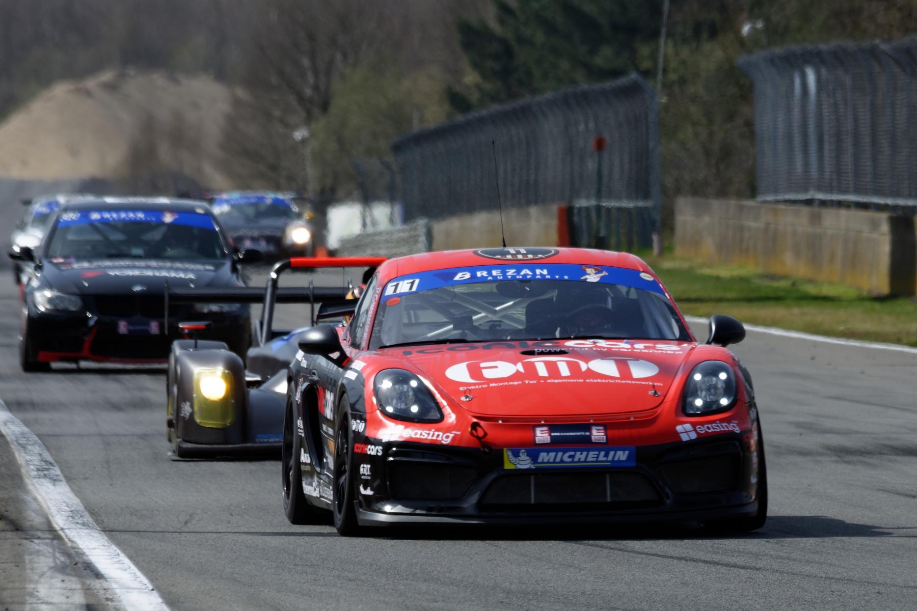 Stienes Longin en Marnik Battryn mikken op podium in Belcar 3