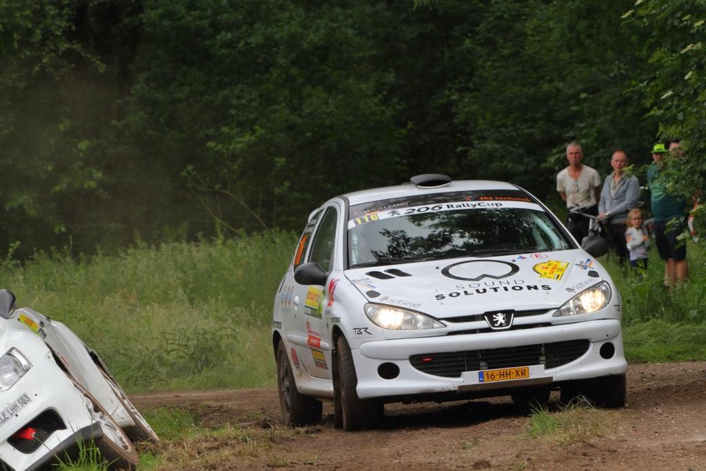 Winst voor Ter Harmsel en Kamphuis in 206 Rally Cup tijdens slopende ELE Shortrally