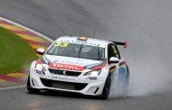 Leclerc, Rasse en de regen als vedette!