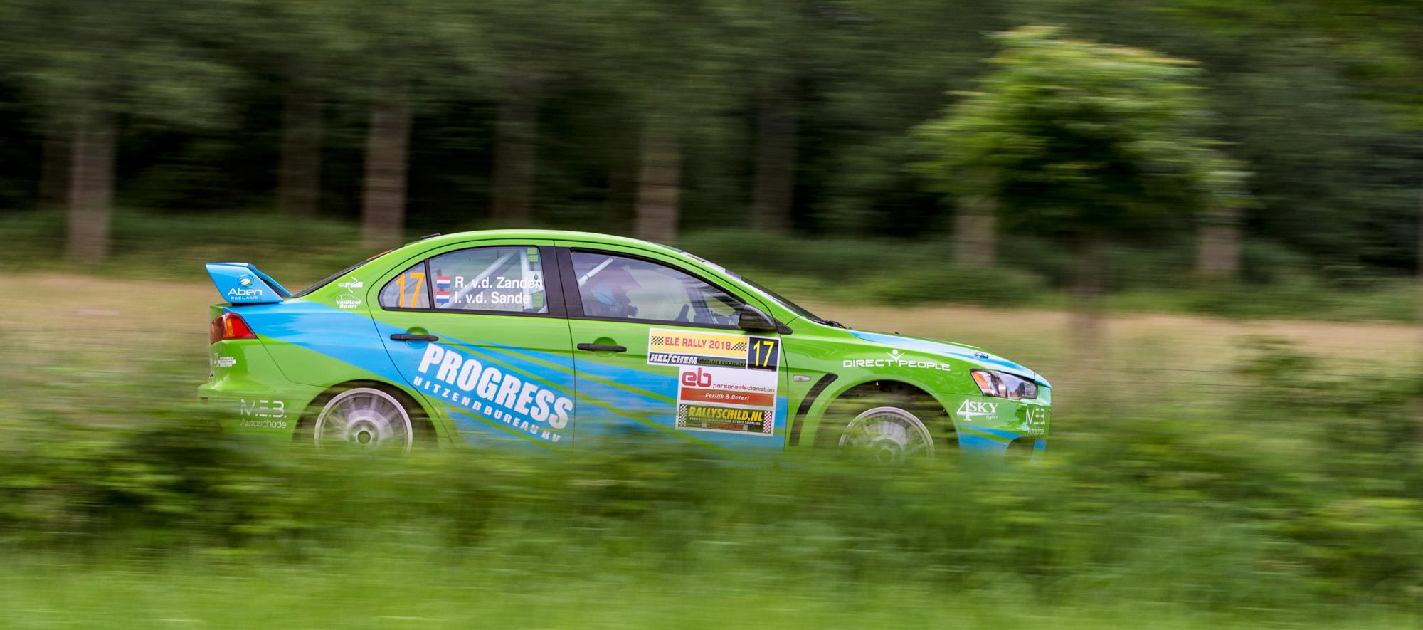 Ambitieus VDZ Racing aan de start in de Vechtdal Rally