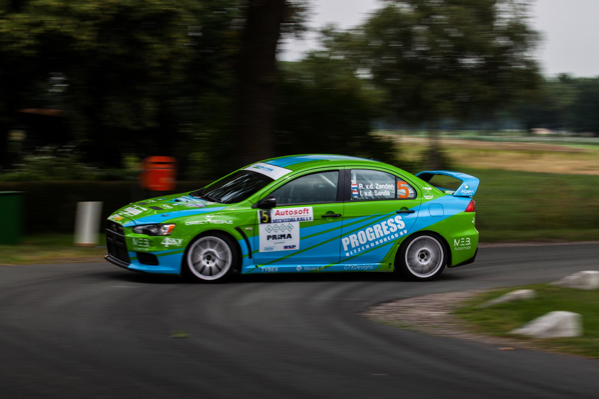VDZ Racing kijkt ondanks tegenslag tevreden terug op de Vechtdal Rally
