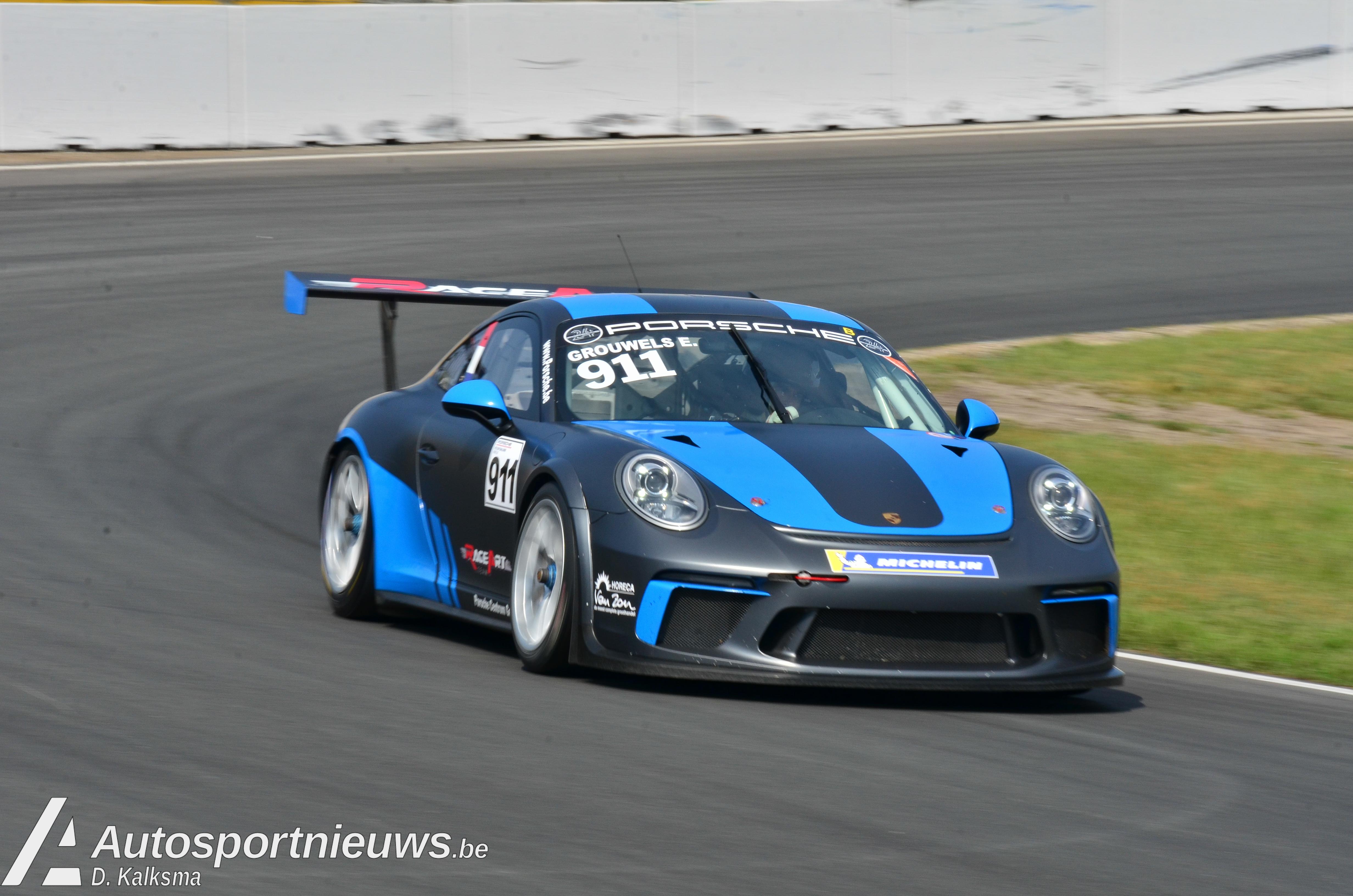 Team RaceArt sluit Porsche GT3 Cup Challenge Benelux af met ereplaatsen en goed gevoel!