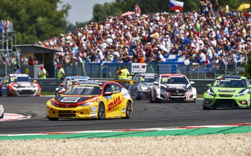 Waardevolle FIA WTCR punten voor Honda-coureur Tom Coronel in Slowakije