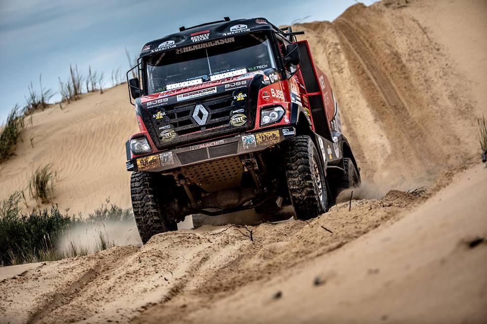 Martin van den Brink tevreden met vierde plaats in zesde etappe Silk Way Rally