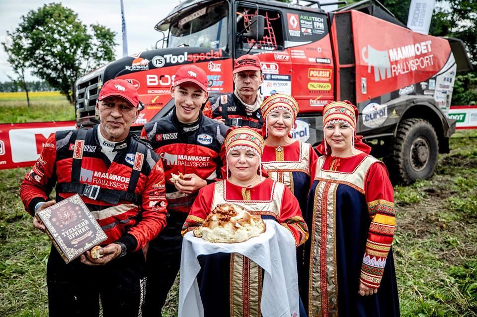 Eind goed, al goed voor Mammoet Rallysport in Silk Way Rally