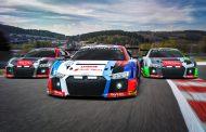 Total 24 Hours of Spa: De kleuren en nieuwe rijderscombinaties van Audi onthuld