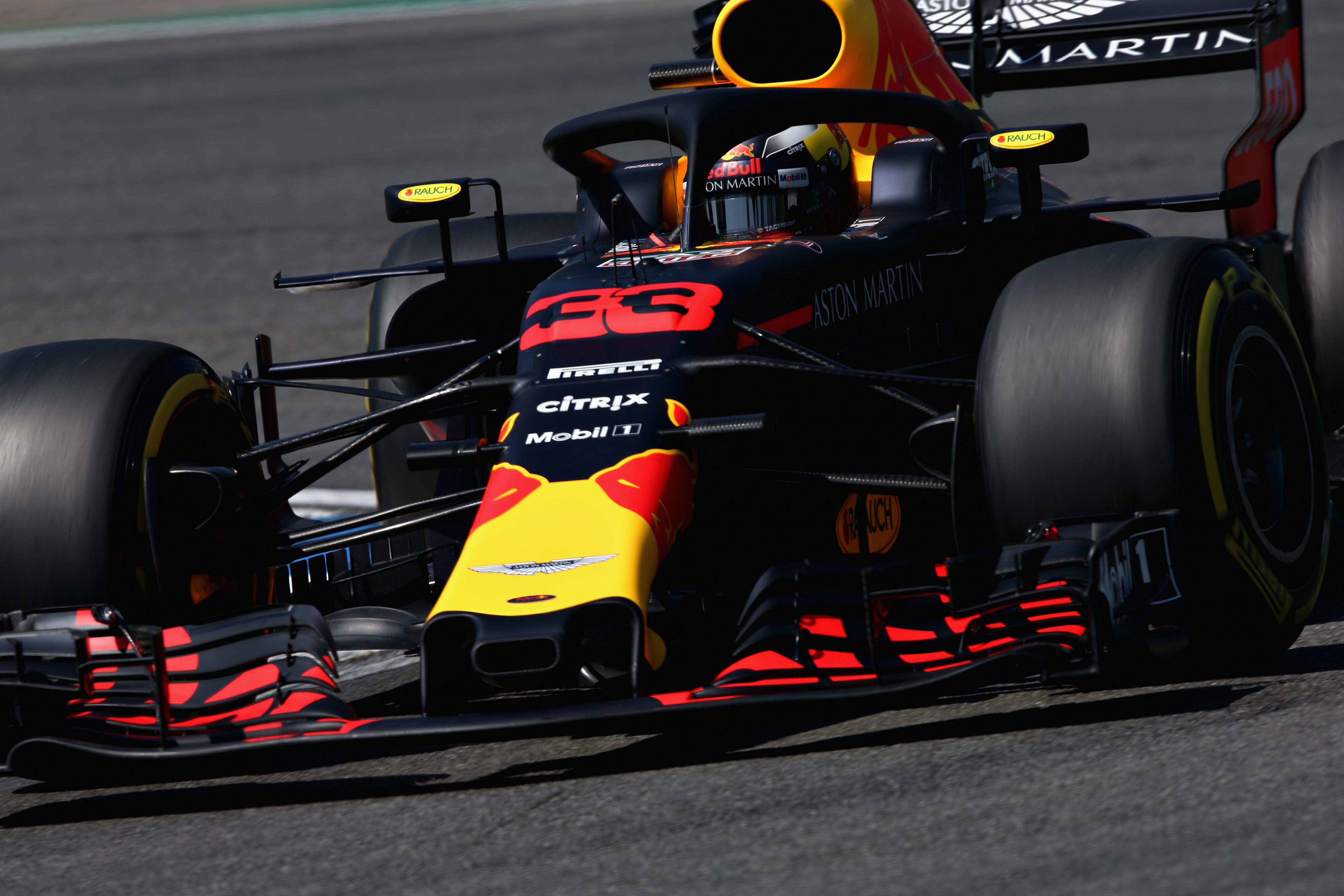 Max eindigt de Duitse GP op P4: