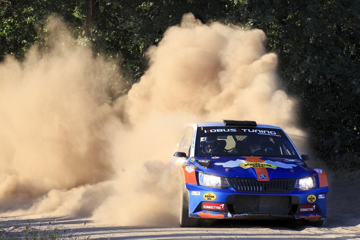 Hermen Kobus verstevigt leidende positie in Eurol R5 Rally Challenge