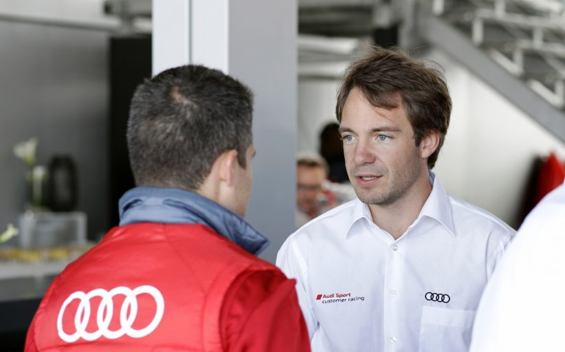 """Frédéric Vervisch: """"Bij Saintéloc rijden is een verrassing, maar ook een teken van waardering en vertrouwen van Audi"""""""