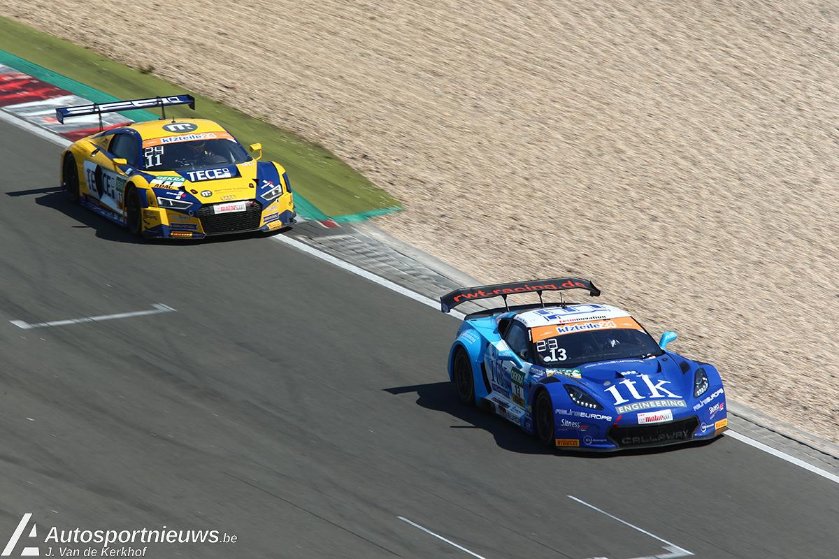 Aanrijding staat puntenbuit Dries Vanthoor in de weg op de Nürburgring
