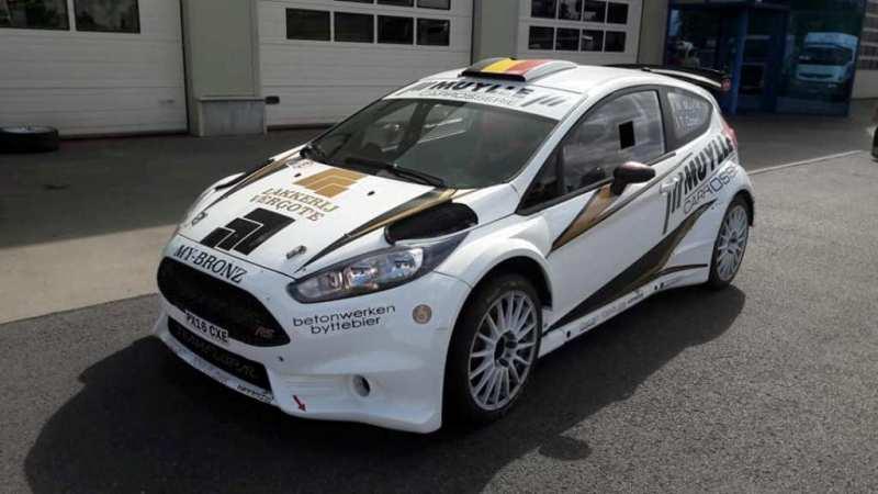 Ed Rallyteam met Safety Fiesta R5 in ConXioN Omloop van Vlaanderen