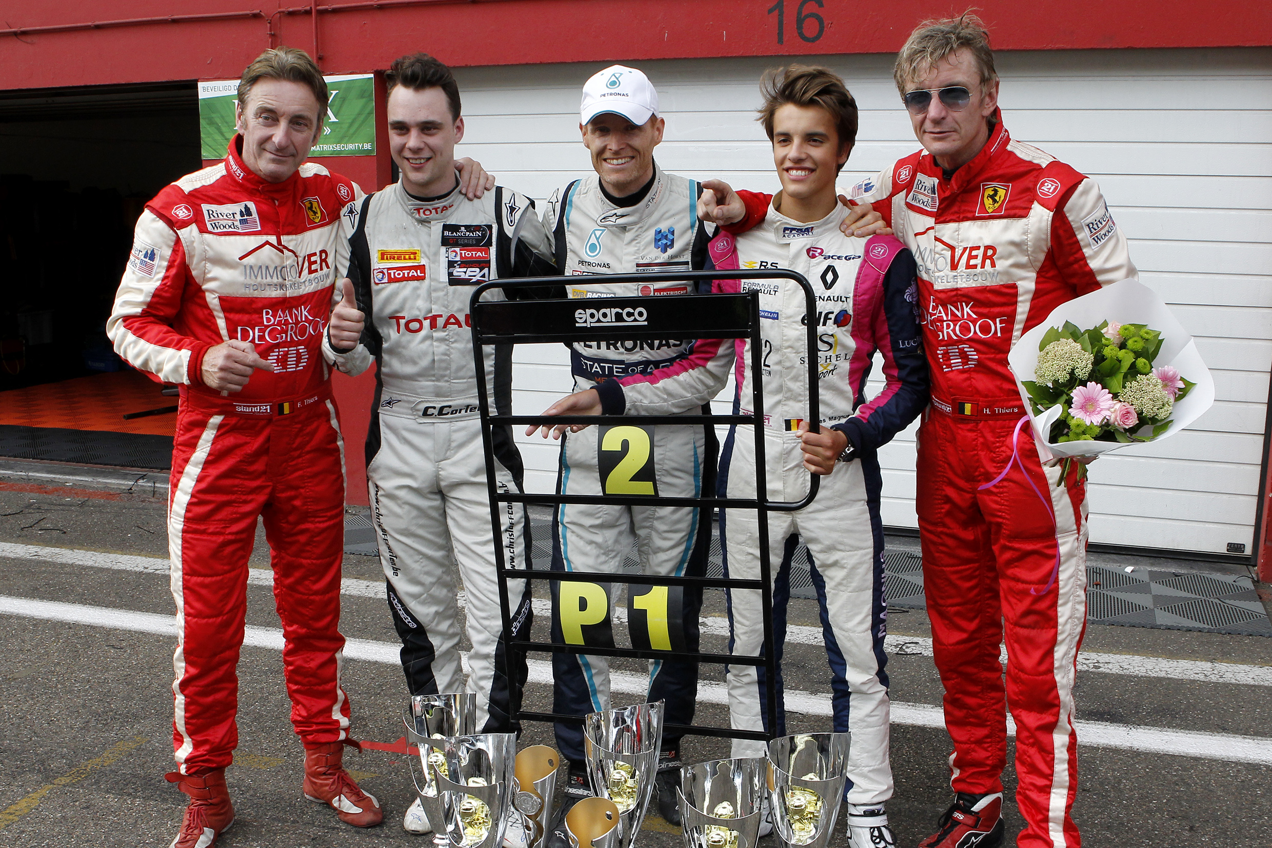 Christoff Corten weer in 24 HOURS OF ZOLDER met Scuderia Monza by DVB RACING