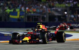 Max Verstappen tweede in Grand Prix van Singapore: