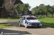 Bob de Jong knalt naar tweede plaats in Eurol Hellendoorn Rally