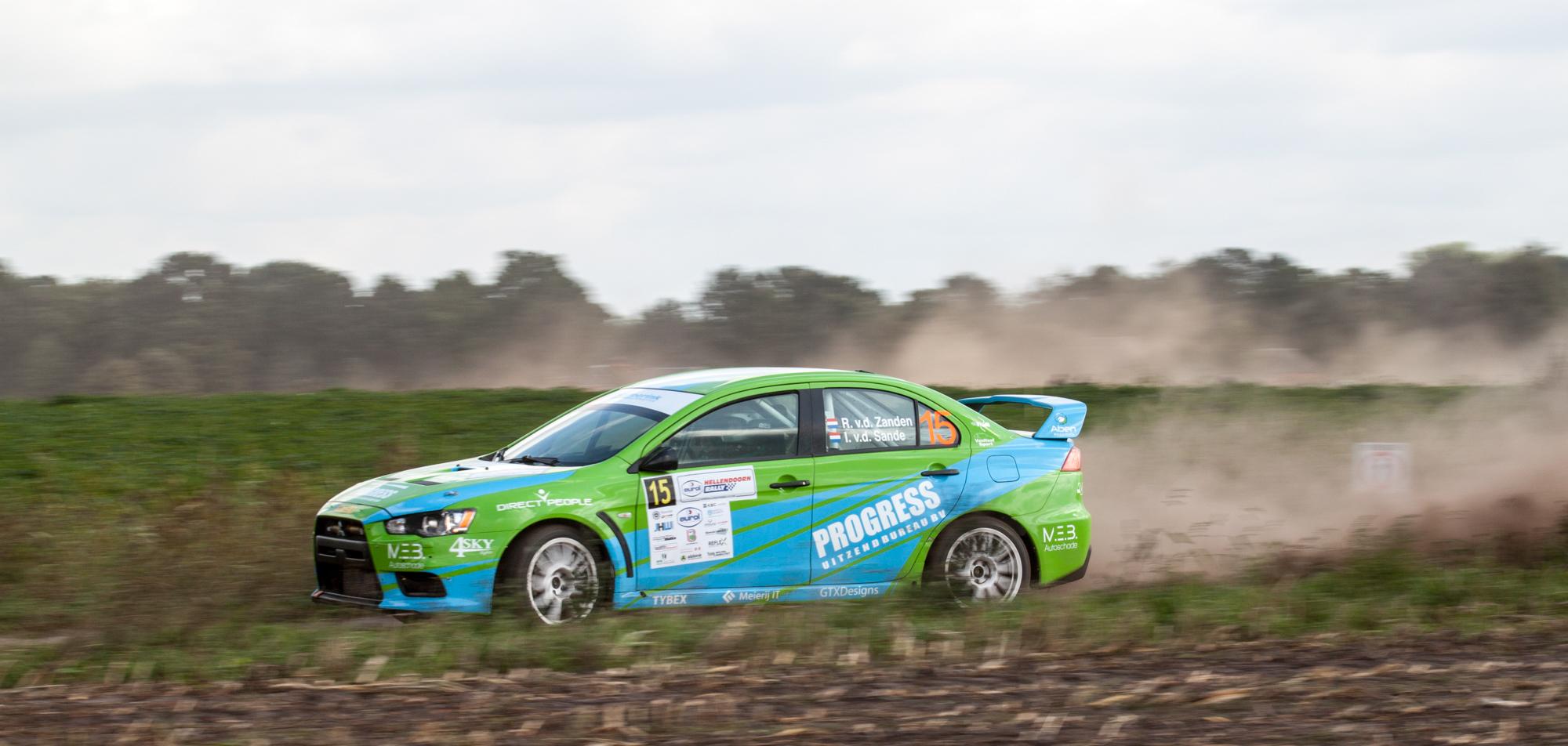 Wisselend succes voor VDZ Racing in Hellendoorn Rally