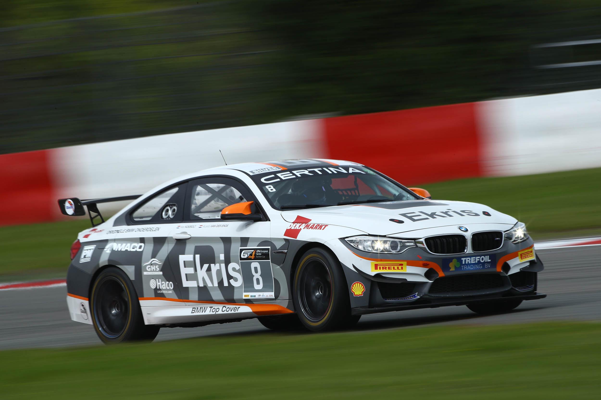 Ekris motorsport keert terug in de GT4 series met hun BMW M4 GT4 voor de race in Zandvoort
