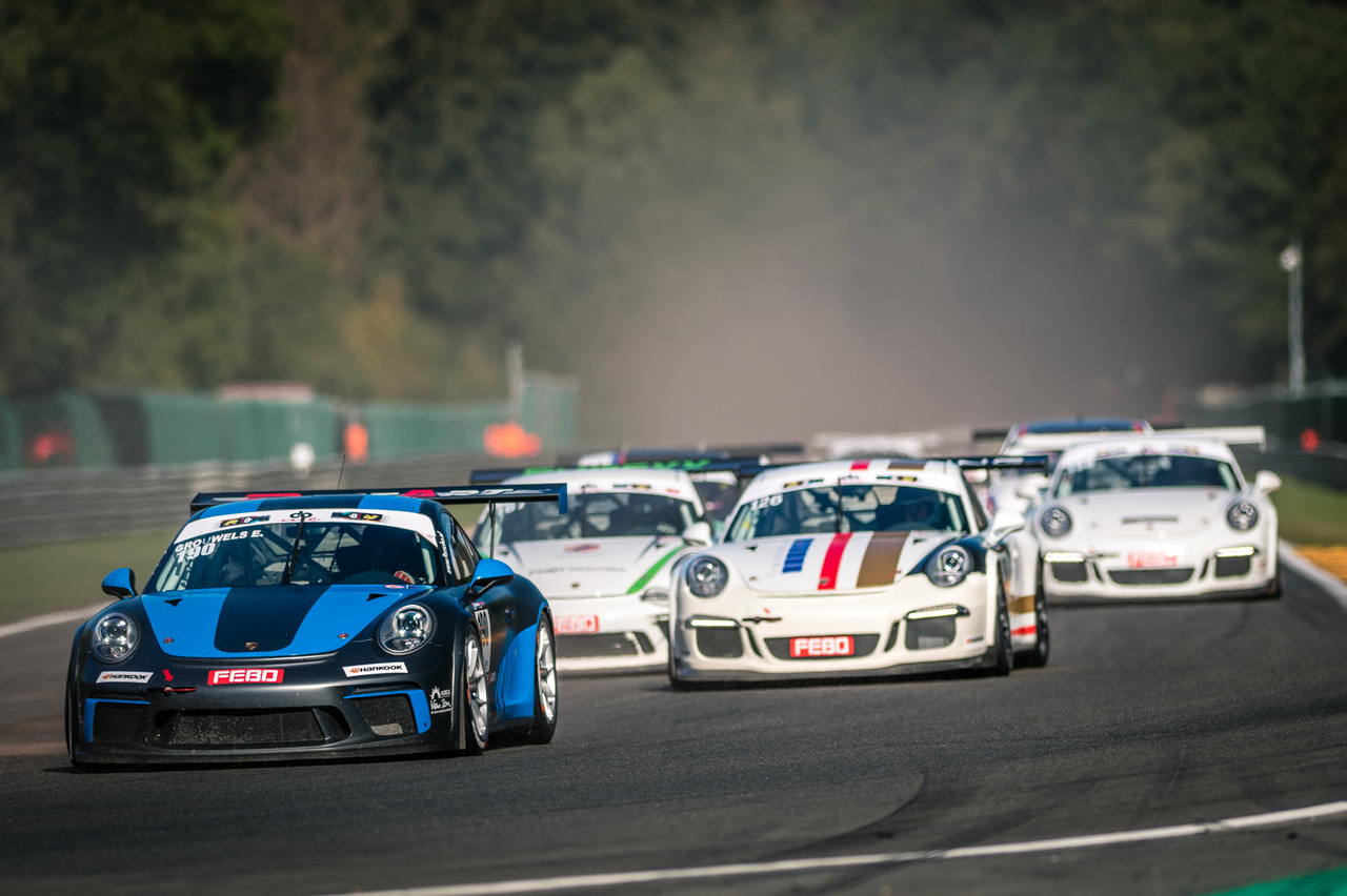 Team RaceArt pakt drie podia in Racing Festival Super Car Challenge op circuit van Spa-Francorchamps