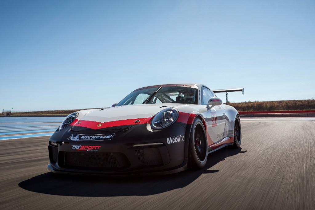 Twee Porsche 911 GT3 Cup voor DG Sport