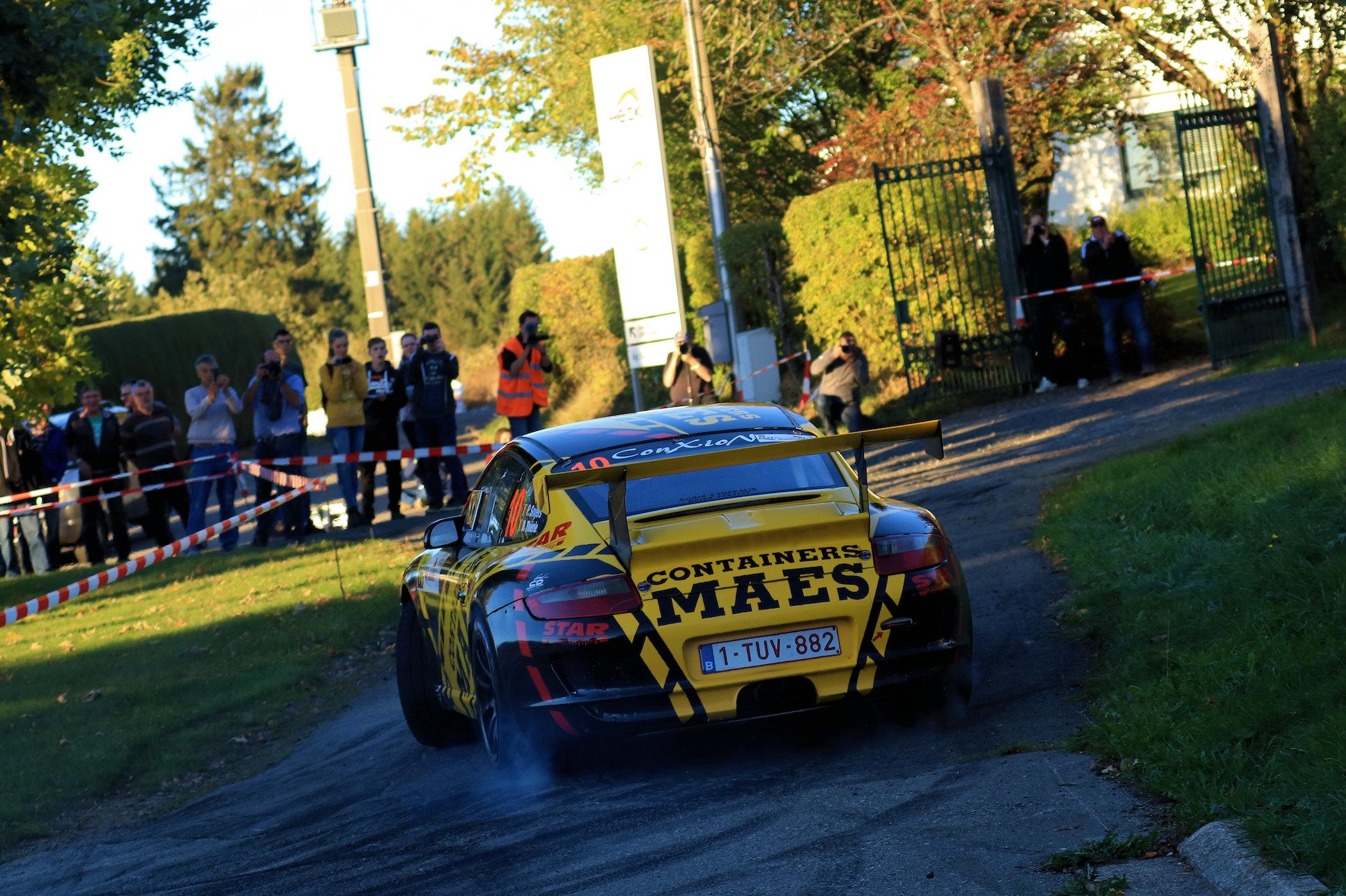 Opdracht volbracht voor Patrick Snijers in East Belgian Rally