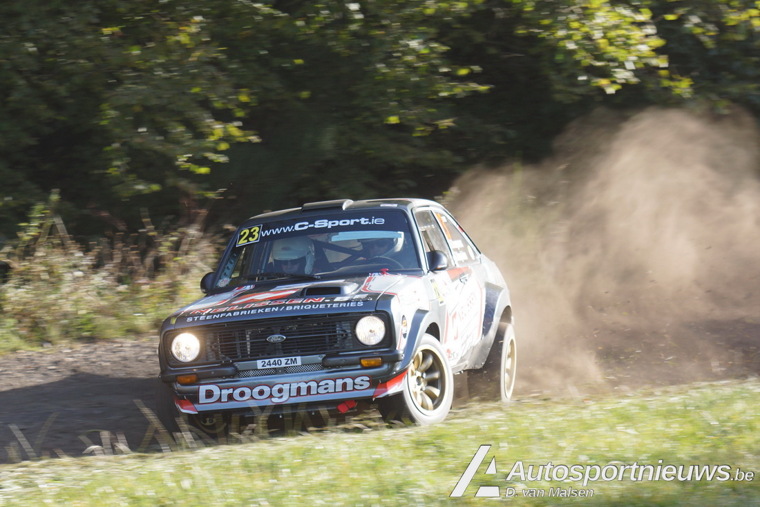 East Belgian Rally 2018 Dik van Malsen