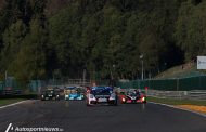 foto,s van de belcar series race Spa Francorchamps