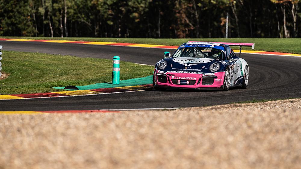 Belgium Racing pakte derde seizoenszege in Spa