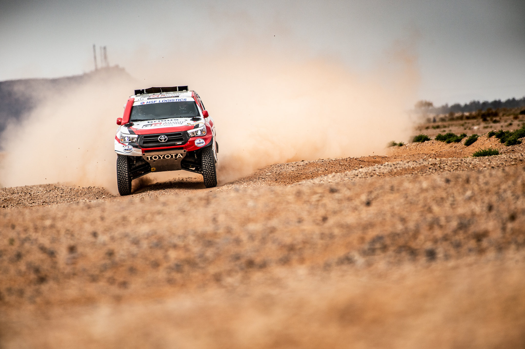 Bernhard ten Brinke besluit Rallye du Maroc met podiumfinish