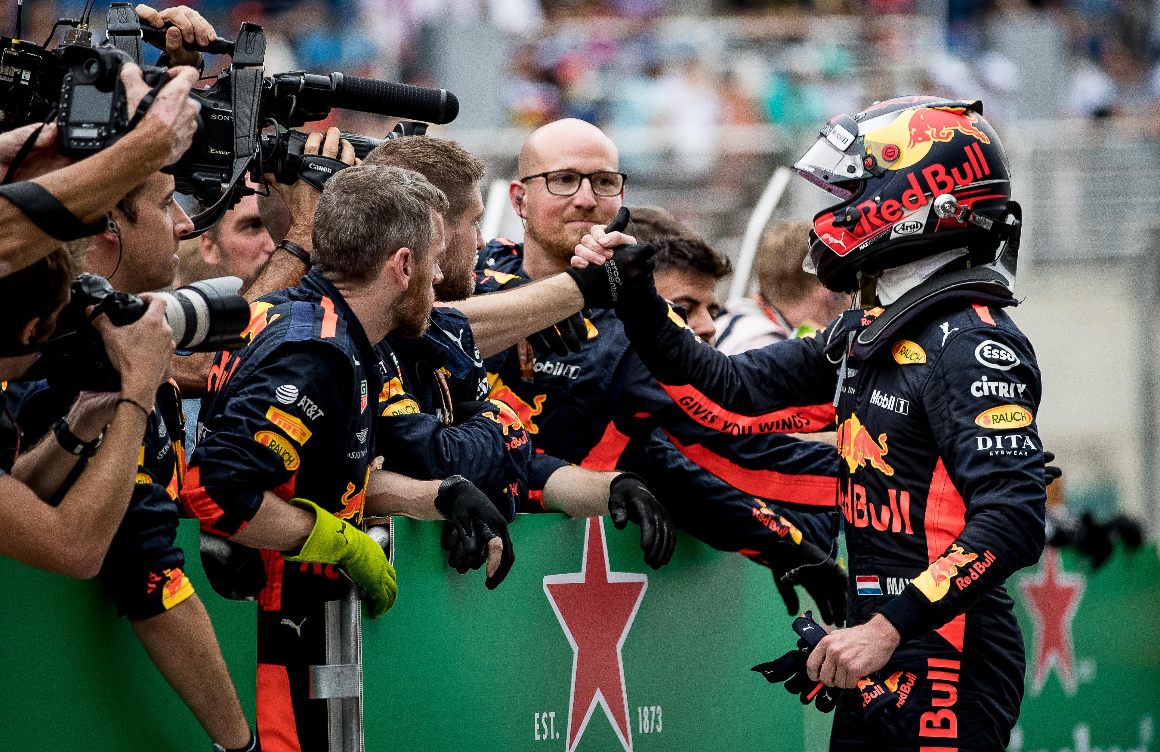 Max Verstappen besluit 2018 met podium in Abu Dhabi: