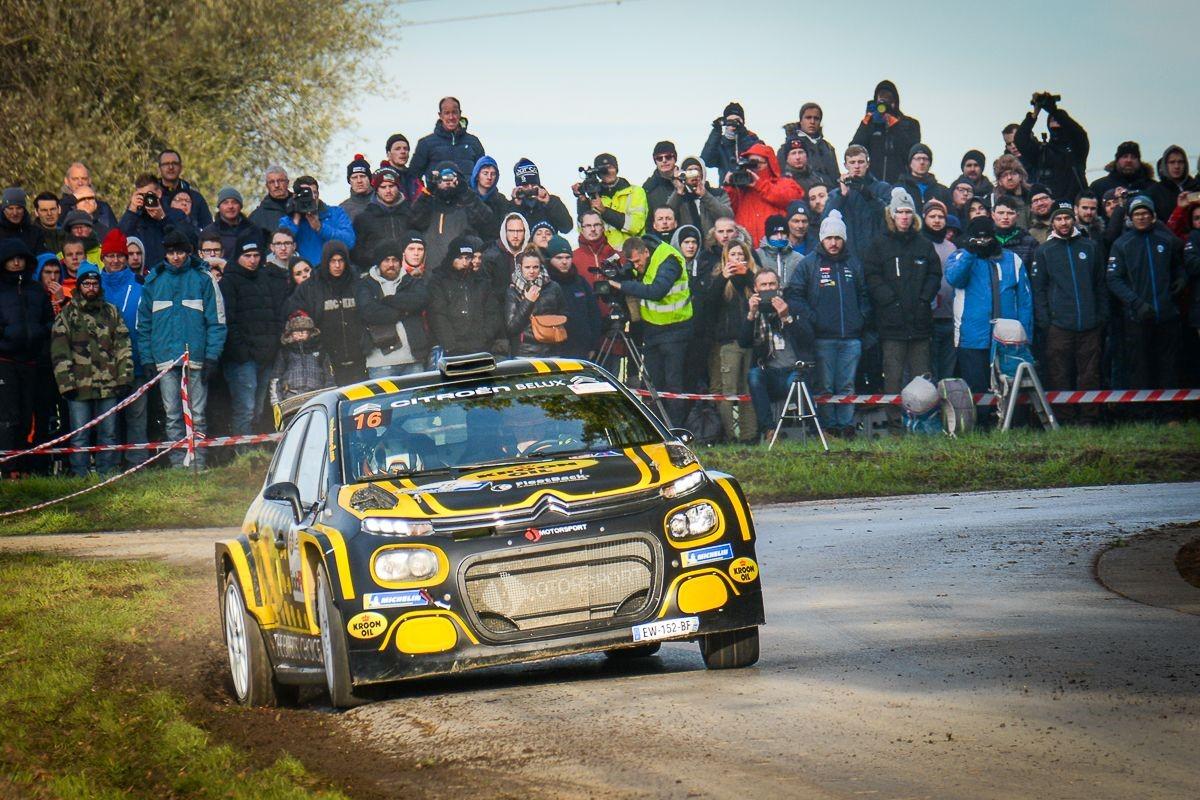 Zege voor Lefebvre en mooi algemeen resultaat voor Citroën in de Condrozrally
