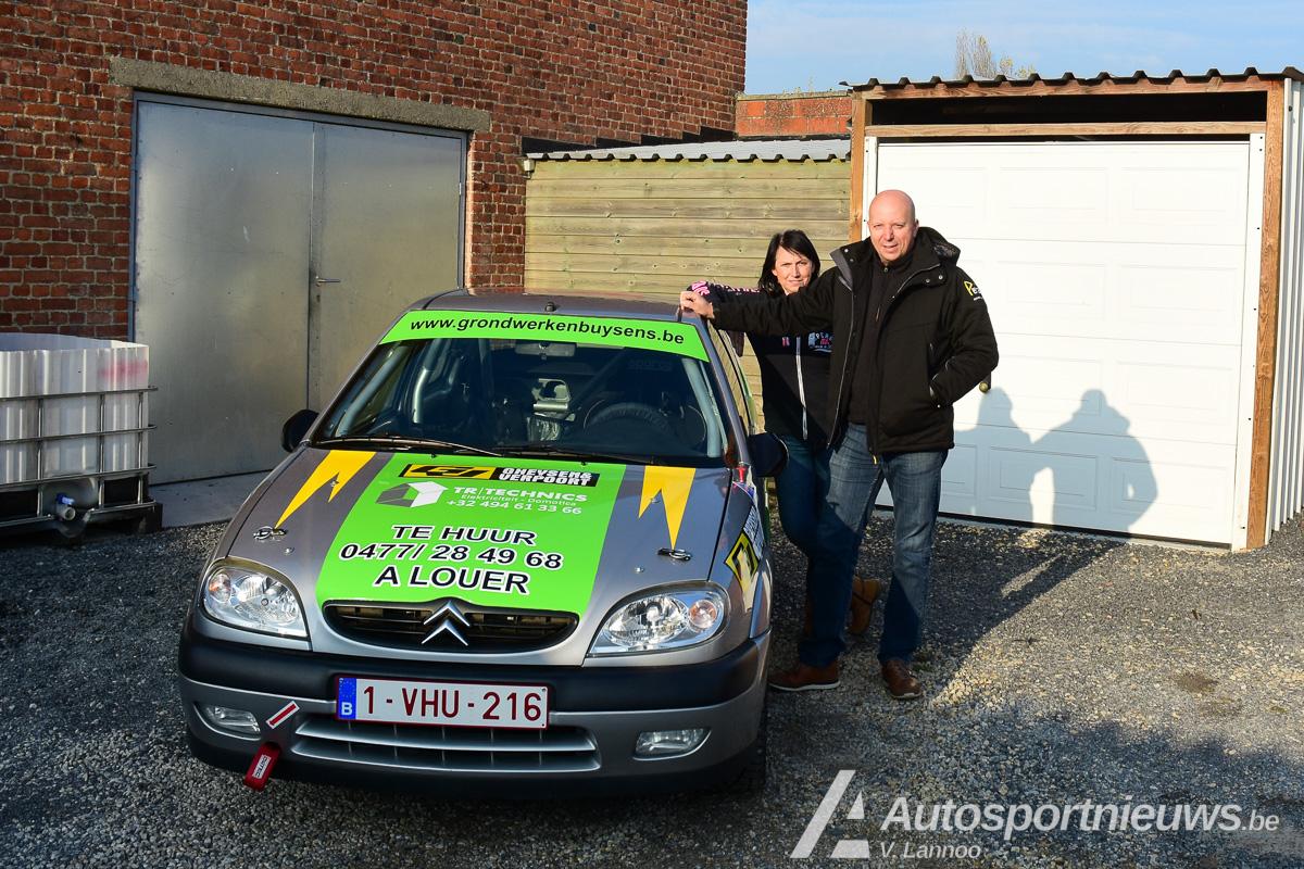 Stefaan Vanneste met nieuwe Citroën Saxo Gr.N in 6 Uren van Kortrijk