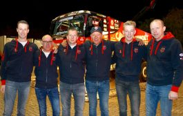 Sfeervolle teampresentatie Mammoet Rallysport in Harskamp