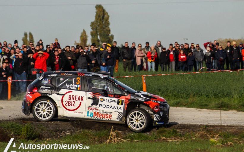 18x R5 voor Rallye du Béthunois + info parcours en genummerde deelnemerslijst online!