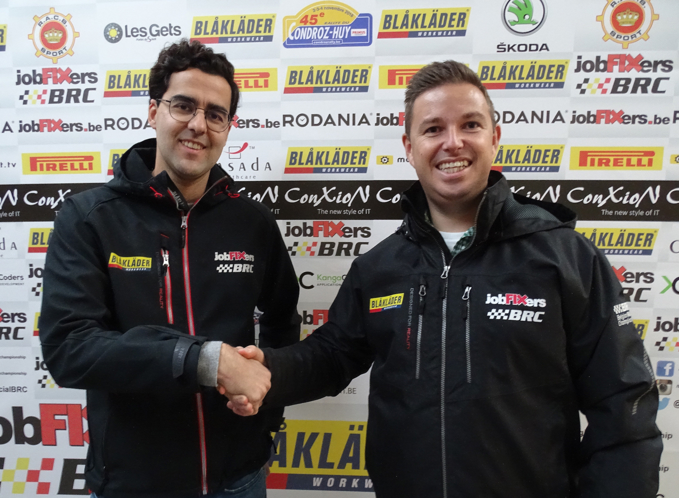 Blåkläder verlengt zijn partnership met het Belgian Rally Championship