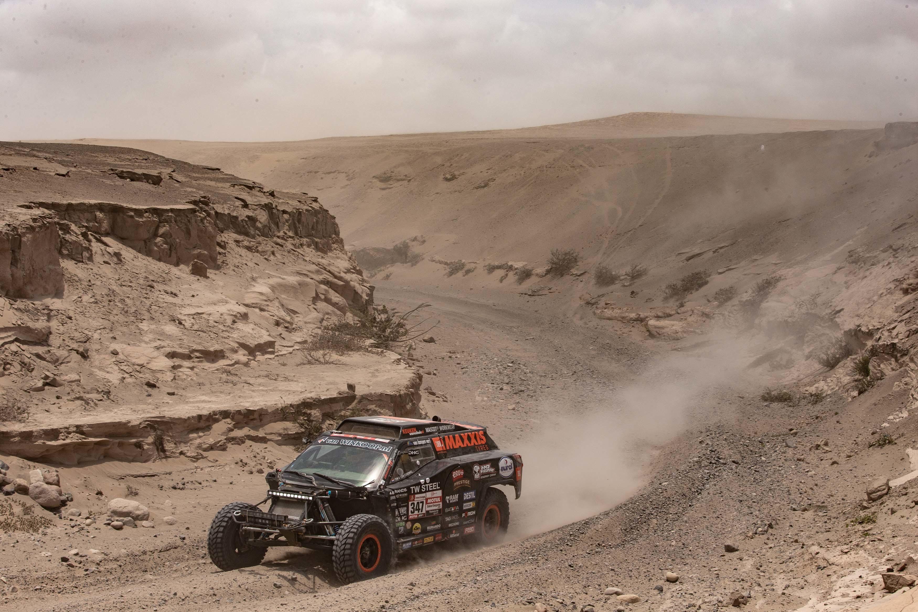 Van overnachten in de woestijn naar vlekkeloze etappe