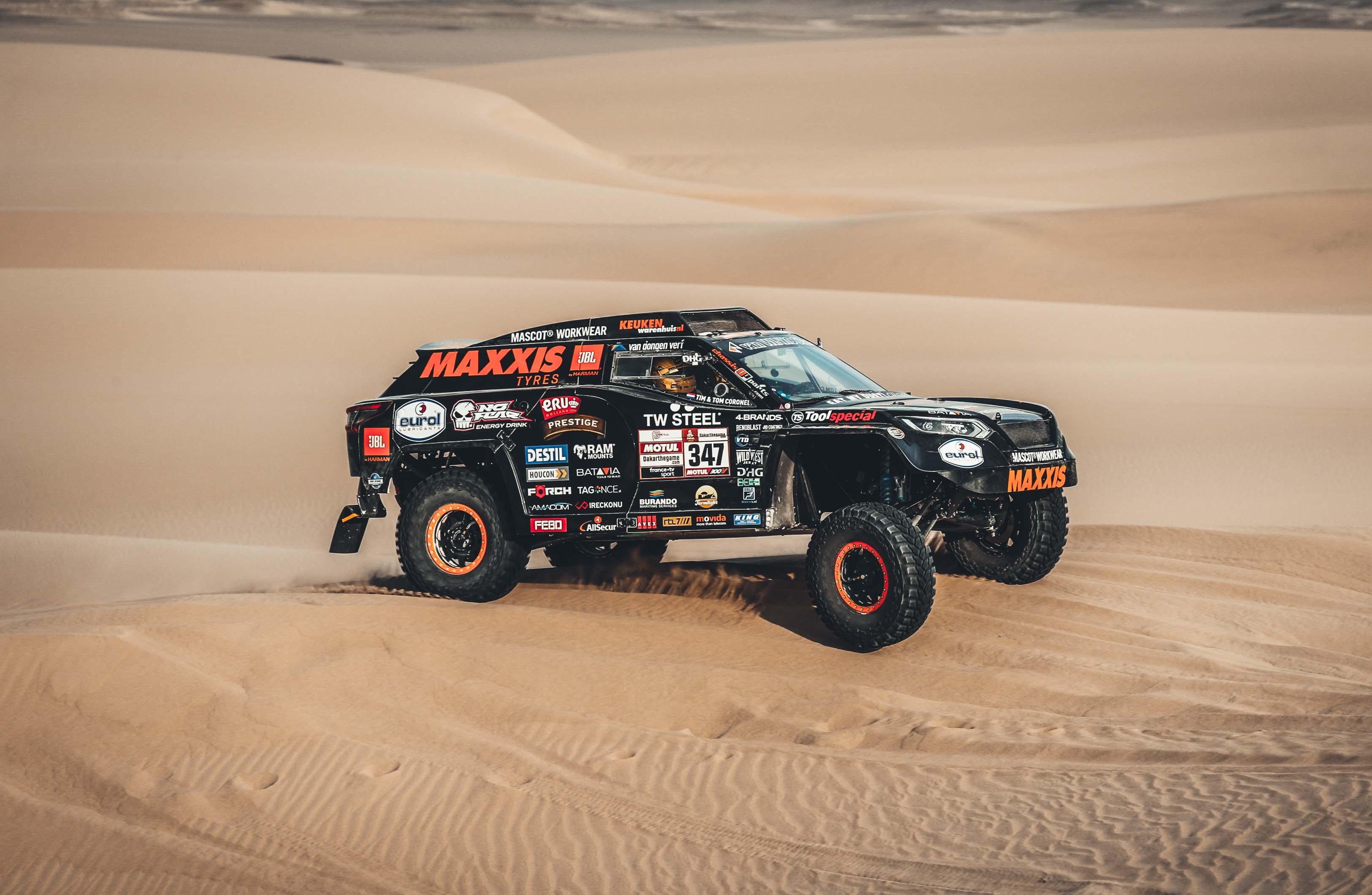 Dakar 2019 etappe 3 - Worstel en kom boven - editie 2019