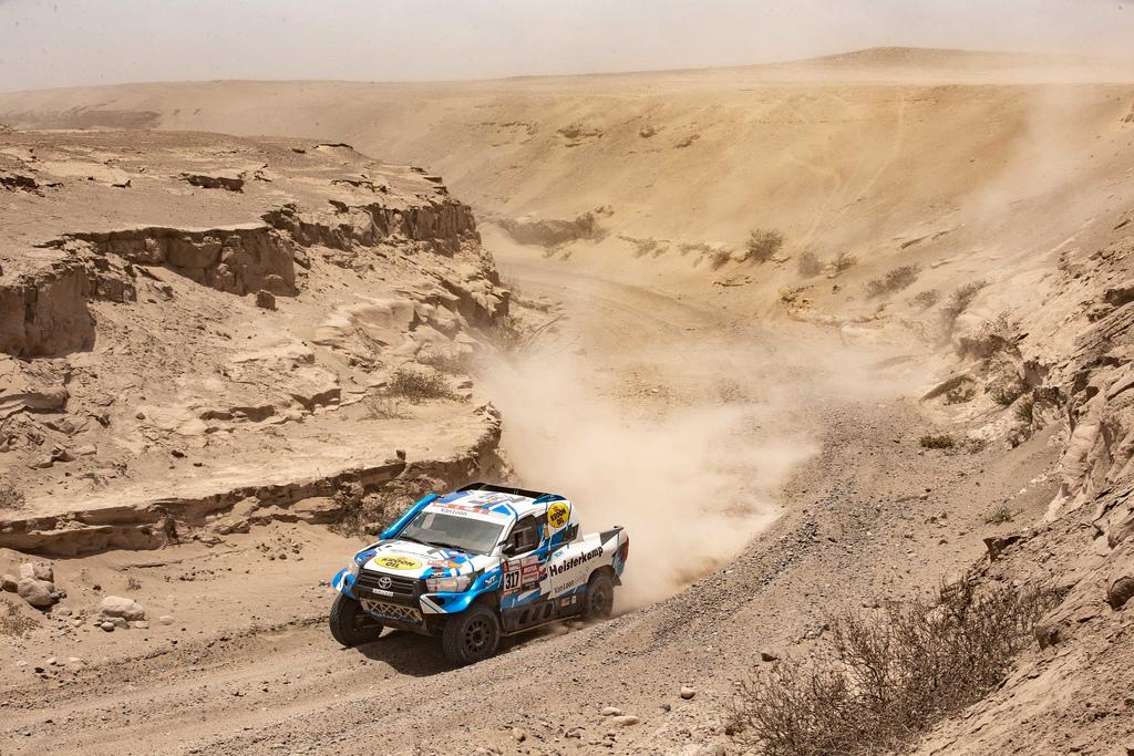 Dakar 2019 etappe 7 - Metaalmoeheid en mentaalmoeheid