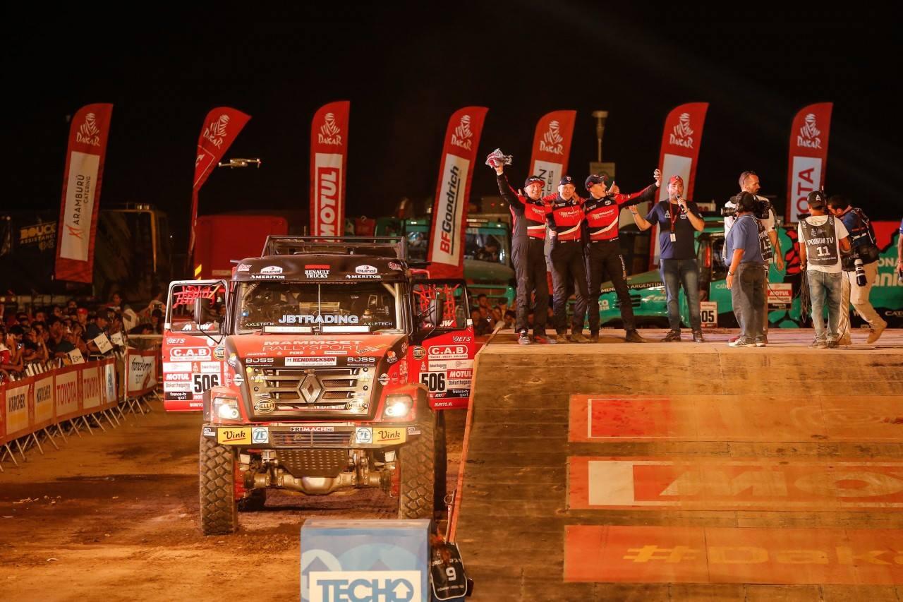 Openingsdans stemt Mammoet Rallysport tevreden