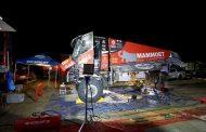 Martin van den Brink inspireert Mammoet Rallysport vanuit het bivak