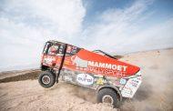Team Mammoet Rallysport slaat zich door loodzware etappe
