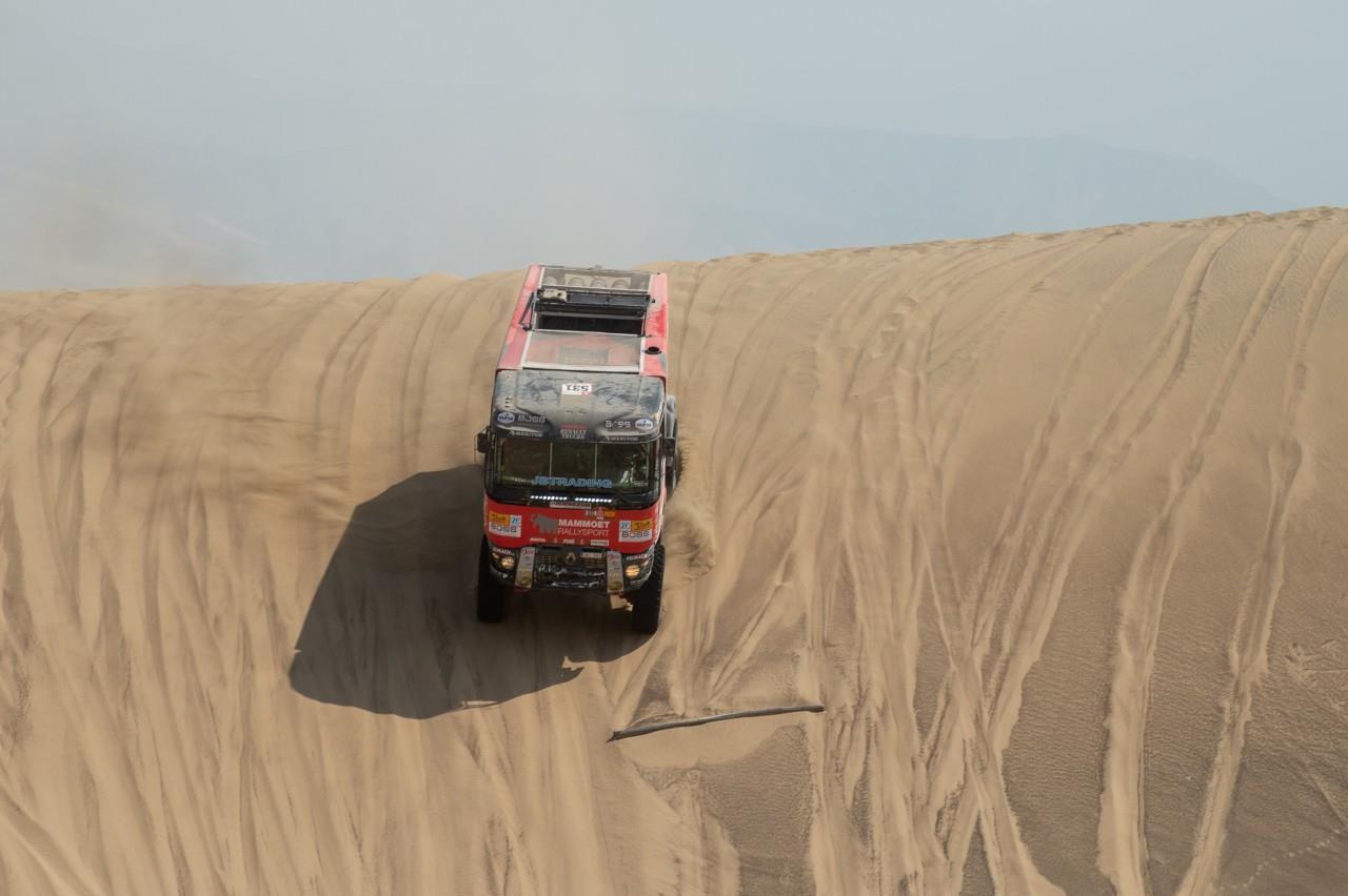 'Inzet van team Mammoet Rallysport is niet beloond'