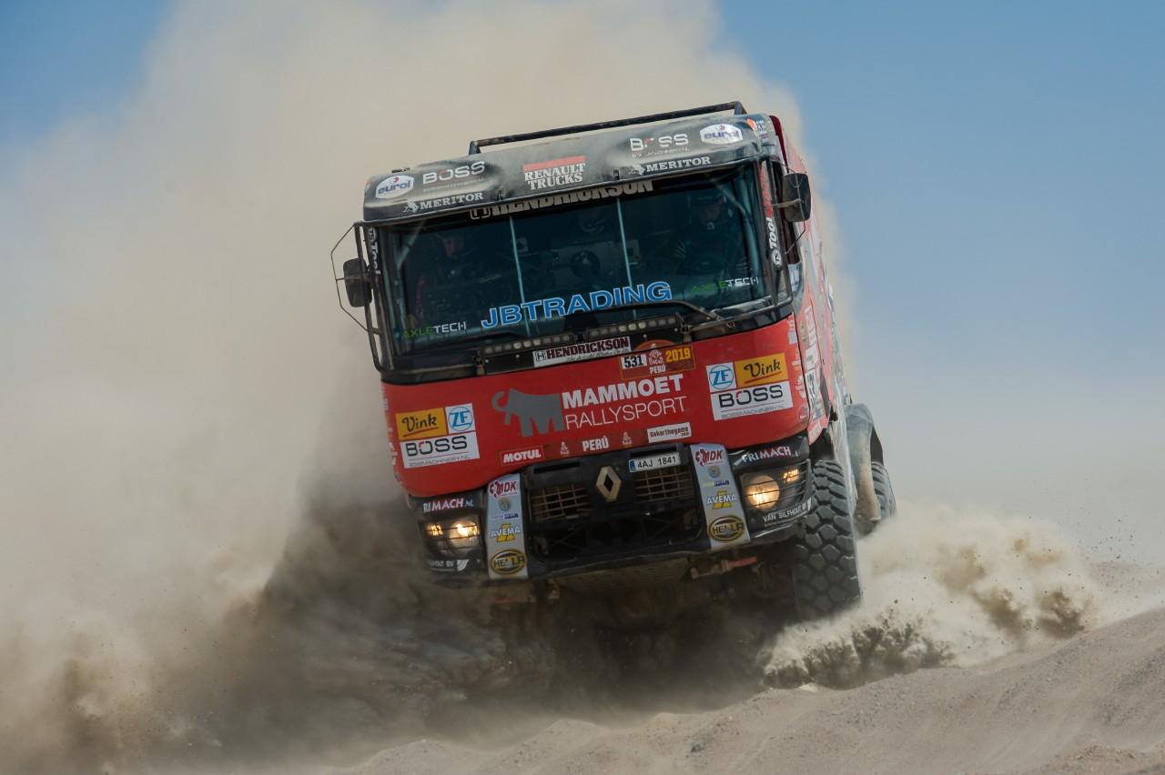 Mammoet rallysport kiest voor zekerheid