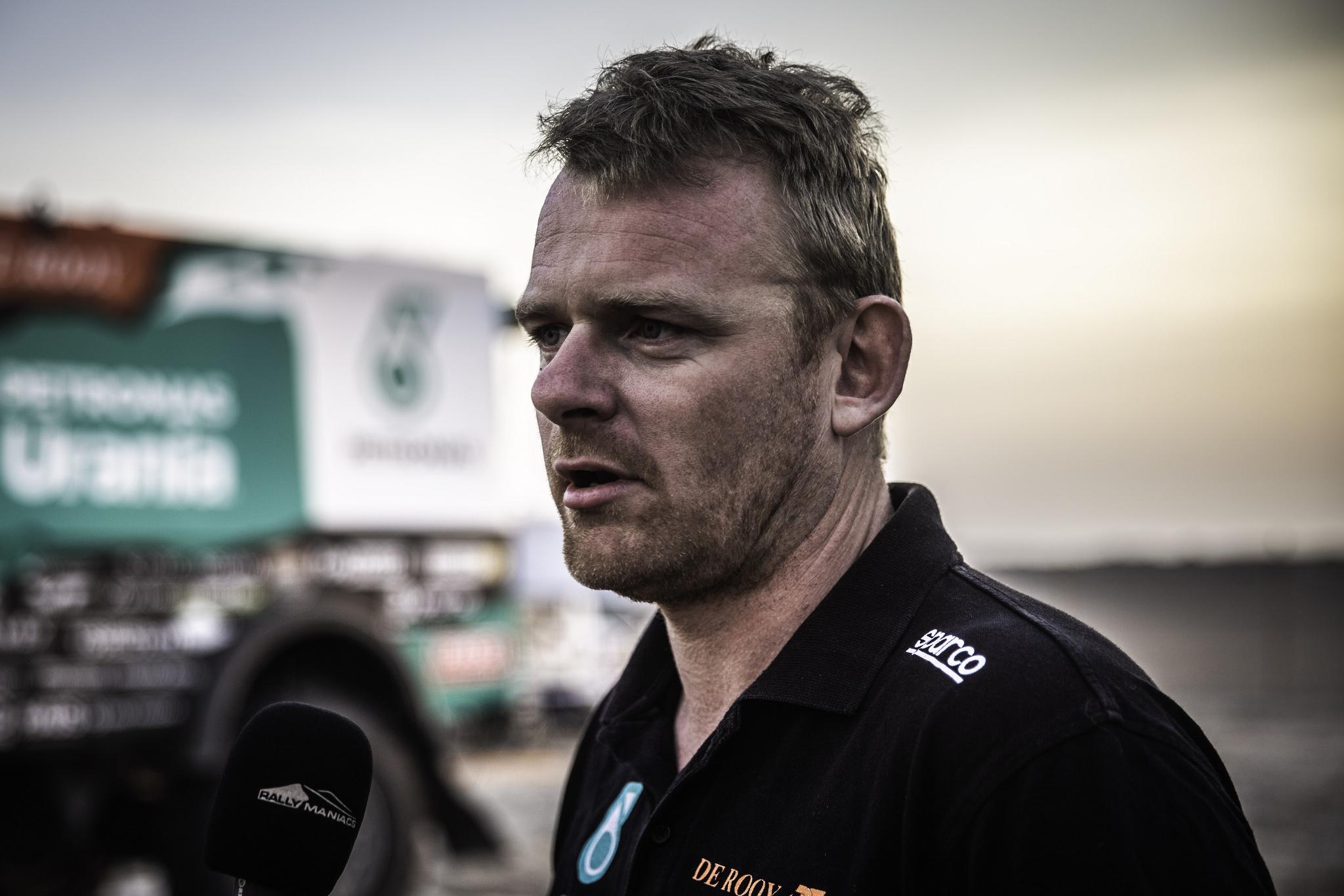 De Rooy maakt indruk in zware zevende etappe