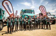 Team De Rooy als enige compleet aan de finish Dakar 2019