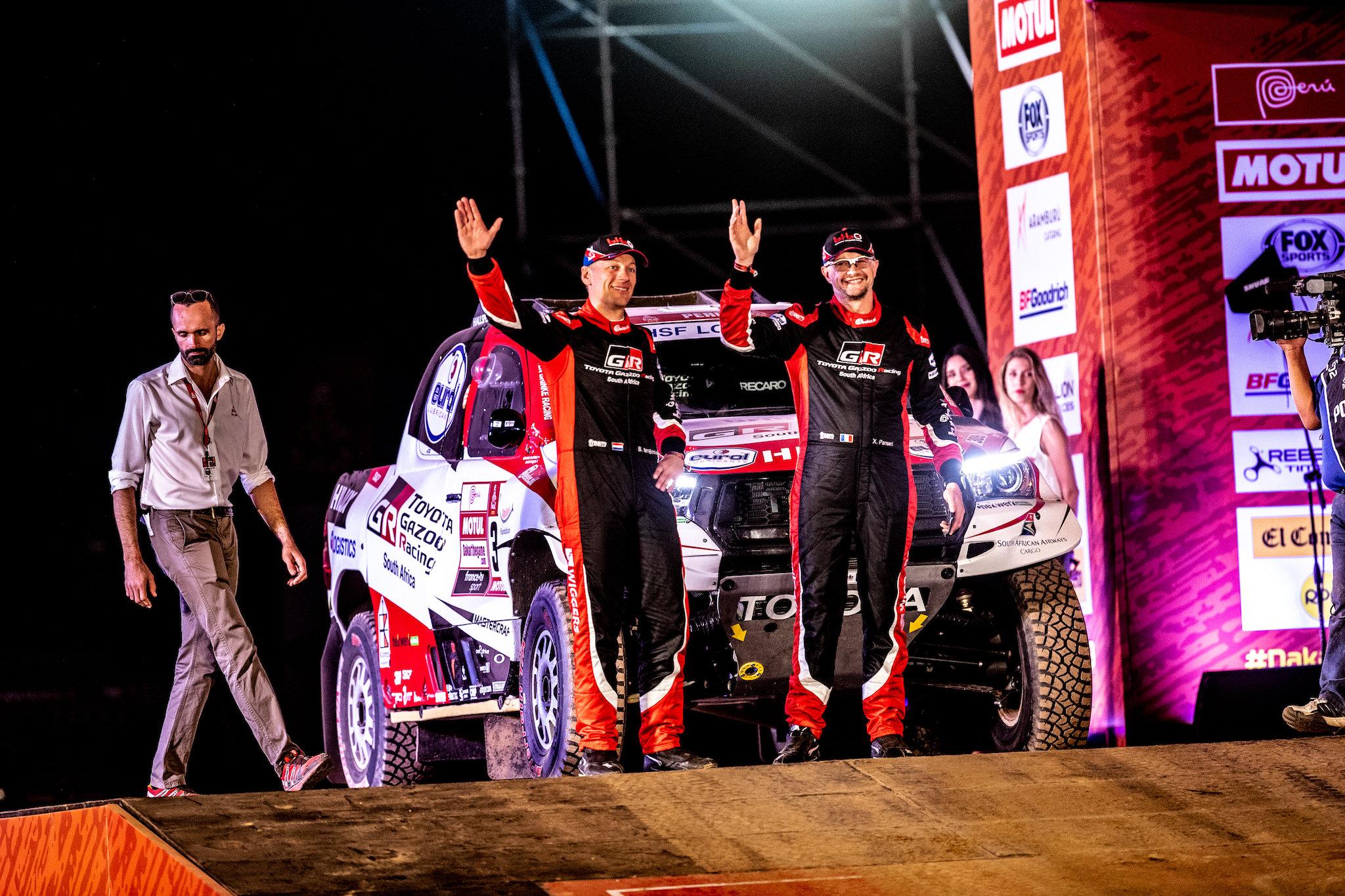 Genieten voor Bernhard bij feestelijke start Dakar 2019