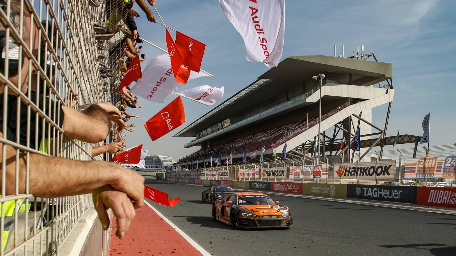 Car Collection Motorsport Audi wint 2019 Hankook 24H DUBAI